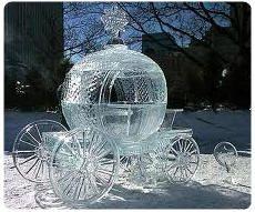 Bruges sculture di ghiaccio