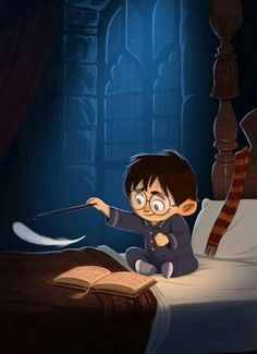 Okay this is the cutest thing in the entire world, right @iqram Past Harry's Bedtime by jdelgado.deviantart.com on @DeviantArt