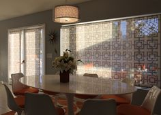 Delia Shades used for French doors and a picture window in a California resort. Get a free estimate for your own project: http://www.deliashades.com/quote.php #FrenchDoor #DeliaShades #makeover #SolarShades #RollerShade #WindowTreatments