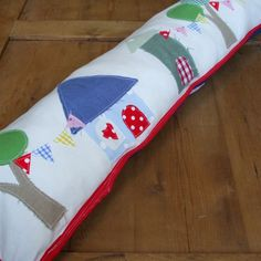 Happy Bunting Draught Excluder idea
