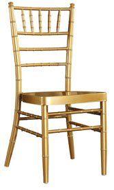 100% Aluminium chiavari krzesło ślubu