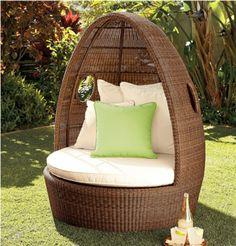 ... Modern Garden Furniture Set And Lounge Chair. Polyrattan Garten Ideen  Auflagen Outdoor Rattanmöbel Kissen