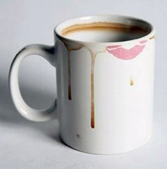 Dirty Mug  This Dirty Mug $14.90 will make sure no one steals your mug ever again! Adorned with disgusting lipstick stains and coffee drippings, this dirty mug looks downright nasty. Makes an awesome prank gift and a clean freak's worst nightmare