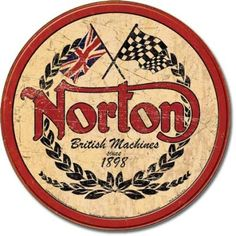 Old Metal Signs | Norton Vintage Metal / Tin Signs - The Tin Sign Company ...