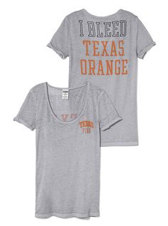 University of Texas Rolled Cuff Tee