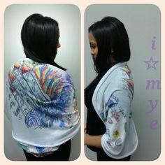 Hand drawn imye infinity wrap #imye #art #prints #artist #winnipeg #doodle #handdrawn #infinityscarf #tshirts #design #style