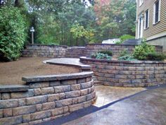 Retaining Wall Installers in Manchester NH This gradation is acceptable