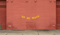 abandonedloveseries: you are enough quote by milly cope // banner & photography by peytonfulford