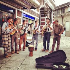 I love these street musicians. They have played in some local bars as well.
