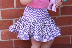 After the Angelina Ballerina Costume and Peppa Pig T-shirt, a quick skirt (not related to any TV show!) for Celeste was in order for Kids Clothes Week (yep, Jacob missed out this time!). I've never used the gathering foot for my sewing machine and it was time to give it a try. I started with …