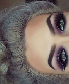 Wirklich wie braune Augen Make-up Pic 3090 Makeup make up for brown eyes Purple Eye Makeup, Makeup For Brown Eyes, Smokey Eye Makeup, Skin Makeup, Eyeshadow Makeup, Purple Smokey Eye, Eyeshadow Ideas, Makeup Brushes, Eyeshadow Blue Eyes