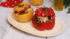 Szezonális kedvenceink: Töltött kaliforniai paprika   Mindmegette.hu Minion, Eggs, Lunch, Stuffed Peppers, Vegetables, Cooking, Breakfast, Food, Youtube