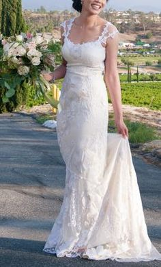 Claire Pettibone Orange Blossom: buy this dress for a fraction of the salon price on PreOwnedWeddingDresses.com