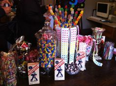 50s themed retro candy bar..another view.