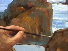 """Painting demonstration """"Master Class"""" with Alex Perez, Part 1/3"""