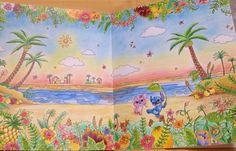 いいね!77件、コメント18件 ― みきみにさん(@mickeyhy74901)のInstagramアカウント: 「。 。 ⋆。˚✩Stitch and Angel ⋆。˚✩ 。 。 沖縄から戻ってから、1番最初に塗り始めました(*´艸`)✨ 。 メインは油性色鉛筆、空はパステル、海と砂浜は水彩色鉛筆です!…」