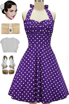New in store at Le Bomb Shop! The Betty Sun Dress in Grape Soda! Buy this color…