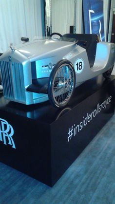 """Brandware's Jeff Perlman and guests of Rolls-Royce Motor Cars were given a private tour of the iconic luxury marque's first interactive public exhibition, """"Inside Rolls-Royce."""""""
