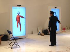 Kinect hack, interactive avatars at the mexican army museum by Random Interactive