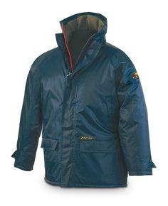 marcaproteccion Parka NÁUTICA. Color Azul Muy cálida. Forro polar interior  y acolchada. 6ad11d05ae289