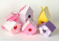 Silhouette Cameo Projects Blog | ... Design Silhouette Projects: 3-D Bird Houses • Silhouette Tutorial