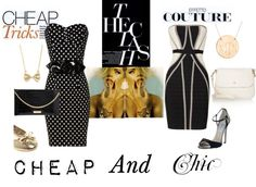 Cheap vs Chic, created by bigas on Polyvore. I cannot wait to dress like this.