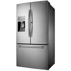 Samsung 30.2 cu. ft. French Door Refrigerator in Stainless Steel with Food Showcase Design-RF30HDEDTSR at The Home Depot