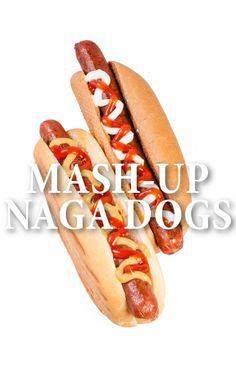 """Chef Jet Tila of Stir Market shared his """"mash-up"""" food idea for a Naga Dog, topping a sausage in a bun with diverse ingredients, on The Talk. http://www.recapo.com/the-talk/the-talk-recipes/talk-jet-tila-naga-dog-recipe-watermelon-mint-agua-fresca/"""