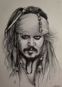 Pencil Portrait Mastery - Pencil Portrait Mastery - Piraci z Karaibów Portret Jacka Sparrowa Pirates of the Caribbean Drawing Captain Jack Sparrow Portrait (Johnny Depp) www.youtube.com/... - Discover The Secrets Of Drawing Realistic Pencil Portraits - Discover The Secrets Of Drawing Realistic Pencil Portraits