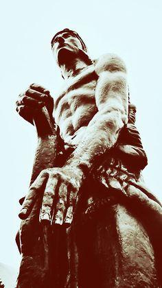 Grande Statue de la Force by Émile-Antoine Bourdelle. Antoine Bourdelle, Grande, Silhouette, Sculpture, Statue, Art, Art Background, Kunst, Sculptures