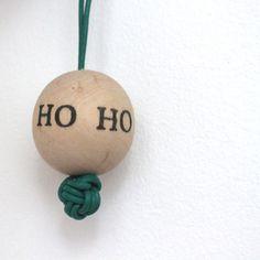 Træ-julekugler – DIY - Lutter Idyl