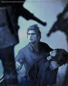 "brilcrist: """"i swore an oath to stand with Noct and keep him safe."" """