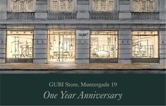 GUBI // GUBI Store celebrates One Year Anniversary