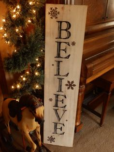 Baby It's Cold Outside - Hand Painted Christmas and Winter Sign ...