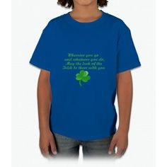 Irish Poem- funny saint patrick day shirt Young T-Shirt