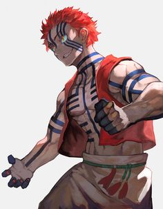 akaza kimetsu no yaiba Demon Slayer, Slayer Anime, Character Art, Character Design, Cute Anime Wallpaper, Anime Japan, Hisoka, Haikyuu Anime, Anime Demon