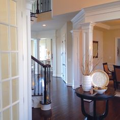 My foyer. Foyer, Entryway, Table, Furniture, Home Decor, Entrance, Decoration Home, Room Decor, Mudroom