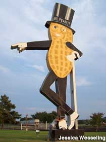 Mr Peanut On Pinterest Planters Peanuts Peanuts And