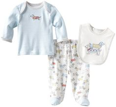 Little Me Baby-Boys Newborn Dachshund Lap Shoulder Set: