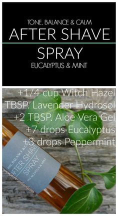 DIY After Shave Spray