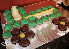 LOVE this tractor birthday cake!! - Party Theme Ideas :: A Farm / Tractor Birthday Party | A Year with Mom & Dad