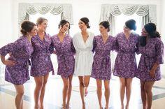 Bridesmaids Robes. Bridesmaid Robes. Bridal by ModernKimonoRobes