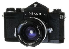 The Nikon F introduced in 1959 offered a range of high quality lenses and accessories.  The lens mount introduced with this camera is still used by new Nikon cameras digital cameras.  Old lenses are sharper than those made with the modern consumer level zoom lenses.  The black cameras were popular with combat photographers and are now the most valuable to collectors.  See more Nikons at: www.web4homes.com/cameras