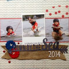 Birds of a Feather Kit Co. July 2014 Kit Wakeboarding