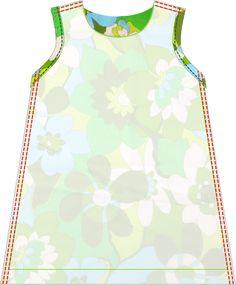 de droomfabriek: Gratis naaipatroon zomers jurkje