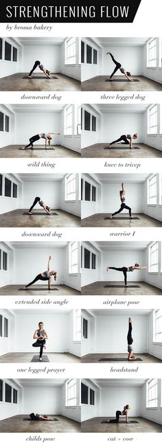 Hold each pose for 5 breaths. Flow through at least 2 times on each side