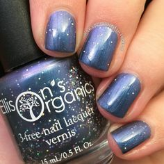 All of Time and Space - Doctor Who Collection Nail Lacquer - VEGAN 3-free Nail Polish for the Dr. Who fan: @jessfres