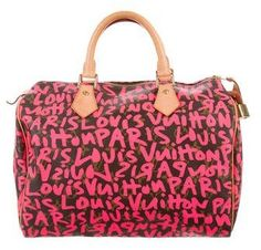 9d9938f37934 A reader requested help authenticating a Louis Vuitton – Limited Edition  Monogram Graffiti Speedy 30 Handbag.
