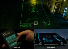 Nike Laser Football Pitch  http://prexamples.com/2013/06/nike-laser-beam-football-pitch-mipista/
