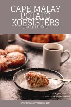 Cape Malay Potato Koesisters are fragrant and aromatic doughnuts spiced with powdered cinnamon, cardamom, mixed spice and ginger and uplifted with the heady scent of aniseed and freshly grated naartjie peel (mandarin orange or tangerine peel). Breakfast Toast, Breakfast Recipes, Easy Cooking, Cooking Recipes, Great Recipes, Favorite Recipes, Food Out, Taste Buds, Doughnuts